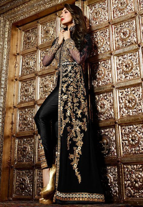 Shop the Indian Ethnic Wear Straight Pant Suit Salwar Kameez at Cbazaar. Large collections, attractive discounts on all Straight Pant Suit Indian Ethnic Wear Straight Pant Suit Dresses and get express shipping.