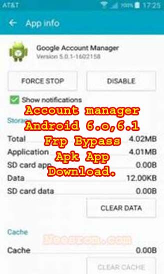 Google Account Manager Marshmallow 6 0 Apk App Download Frp Has