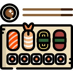 Sushi Free Vector Icons Designed By Freepik In Vector Free Vector Icons Icon Design
