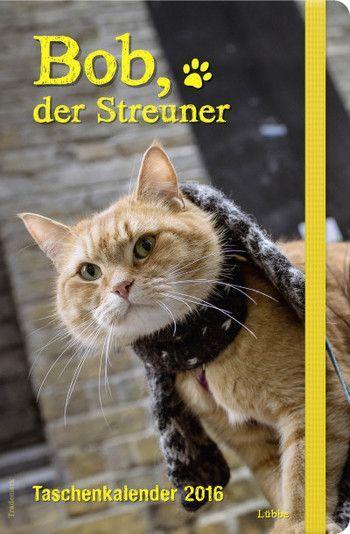 Bob Der Streuner Taschenkalender James Bowen Mit Bob Der Streuner Der Taschenkalender Konnen Sie 2016 Ihre Woche A Cat Named Bob Street Cat Bob Cats