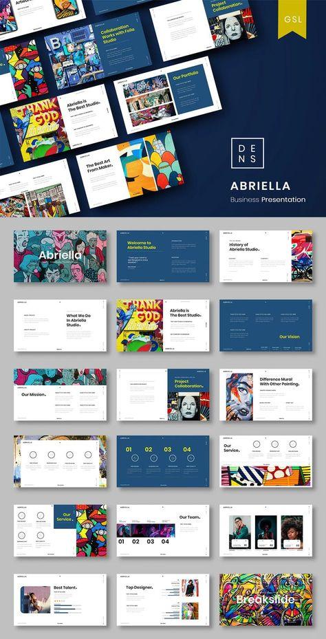 Abriella Creative Business Google Slide Presentation Template