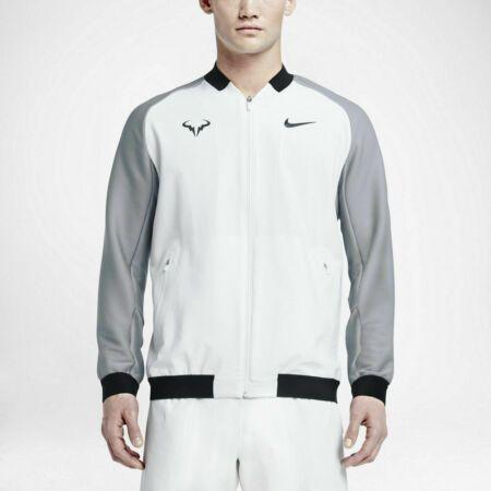 Details About Nwt Men S Nike Nikecourt Premier Rafa Nadal Tennis Jacket White Xl 728986 100 Tennis Clothes Tennis Fashion Fashion