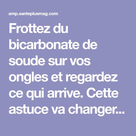104 best BICARBONATE SOUDE images on Pinterest Tips and tricks - mauvaises odeurs canalisations salle de bain