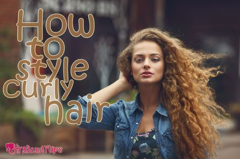 pretty How to Style Curly Hair...
