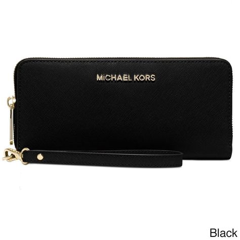 5c2d4a575f705 Michael Kors Jet Set Travel Continental Wallet (Luggage Brown ...