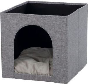 Katzenhöhle Kuschelhöhle Ella für Katzen für IKEA Regal
