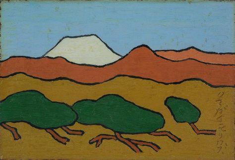 Morikazu Kumagai, Mt Fuji, 1958, galerie nichido / nca | nichido contemporary art