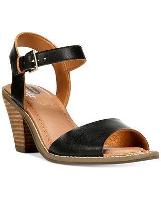 Touched Dr. Scholl's Calistah Women's High Heel Sandals Black