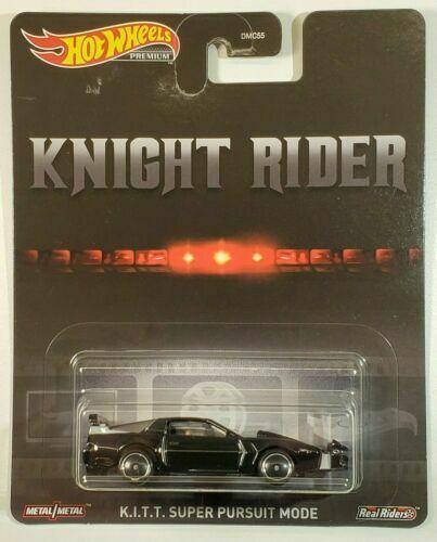 2020 Hot Wheels Premium Knight Rider K I T T Super Pursuit Mode Black W Rrblkwhl Hotwheels Pontiac In 2020 Knight Rider Hot Wheels Cars For Sale