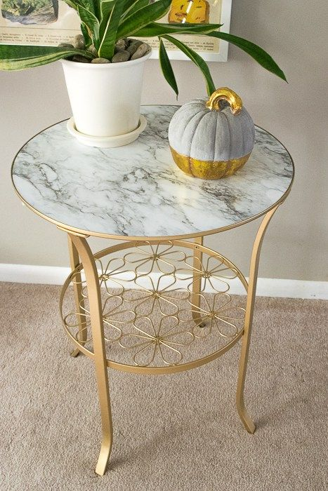 How To Make Over A Simple Ikea Table In 3 Easy Steps