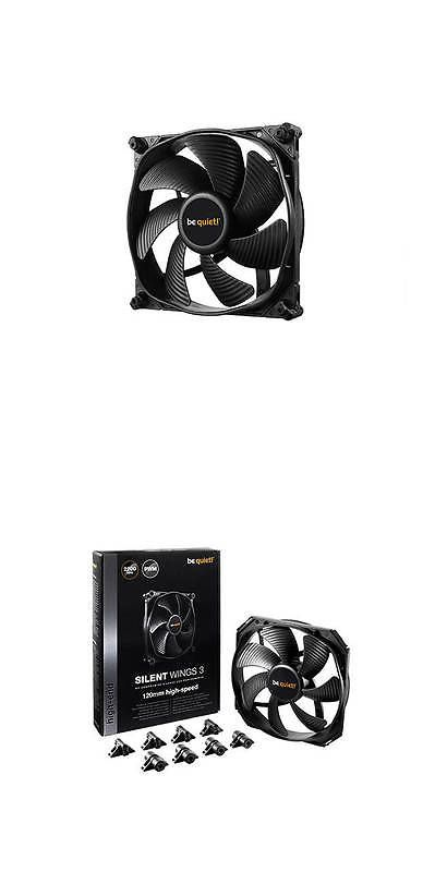 be quiet RETAIL Silent Wings 3 120mm PWM High-Speed Case Fan Brand New!