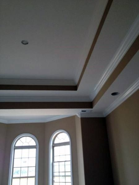 Double Tray Ceiling Design Ideas Pictures Remodel And Decor Tray Ceiling Ceiling Design Bedroom Ceiling Design