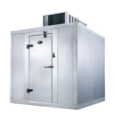Amerikooler Qf081077 Fbsm 8 X 10 X 7 7 Indoor Walk In Freezer With Floor Self Contained With Images Walk In Freezer Air Conditioning Repair Service Hvac Services