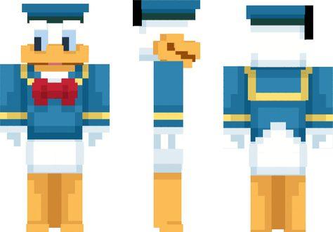 Donald Duck Minecraft Skin Minecraft Skins Pinterest