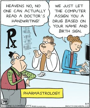 strips about pharmacies comic