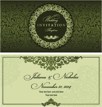 Image Title Floral Wedding Invitation Card Wedding Invitation Card Design Muslim Wedding Cards