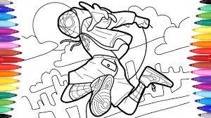 Miles Morales Coloring Pages Google Search In 2020 Spiderman Coloring Coloring Pages Paw Patrol Coloring Pages