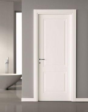 13 Puertas de madera para recamaras blancas