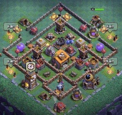 12 Best Builder Hall 6 Base Links Anti 1 Stars 4000 In 2020 Clash Of Clans Game Clash Of Clans Hack Clash Of Clans App