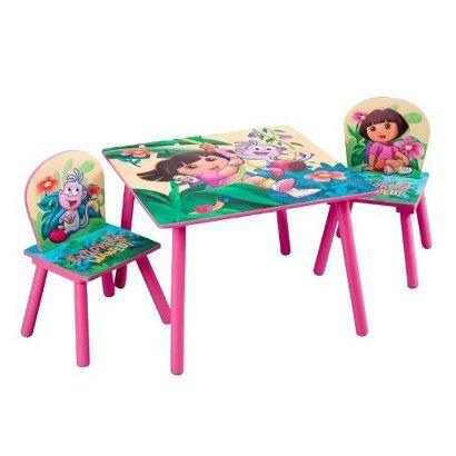 Cool Dora The Explorer Table Chair Set Target Com Table Chair Dailytribune Chair Design For Home Dailytribuneorg