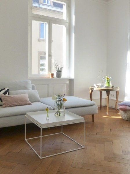 Hay Tray Table Klein 30x30 Cm Weiss Beistelltisch Couchtisch Wohnzimmer Tisch Weiss Couchtisch Couchtisch Design