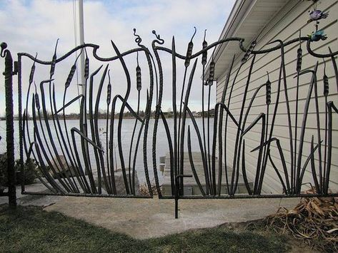 Recinzioni In Ferro Per Giardino.Spighe Per Questo Splendido Cancello Cancelli Da Giardino Arte