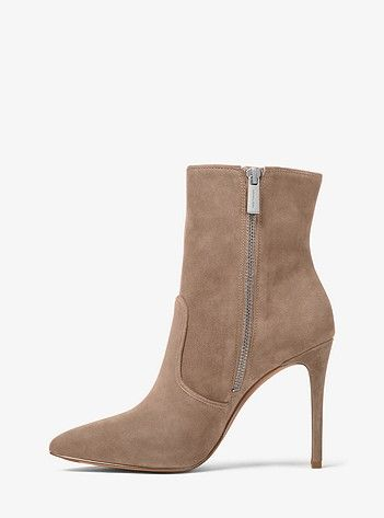 Blaine Suede Ankle Boot | Michael Kors