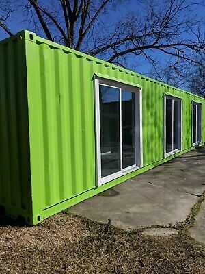 Shipping Container Office 40 Ft Custom Doors Container Office Shipping Container Office Container House
