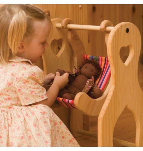 Enjoyable Nova Natural Toys Crafts Julies Swing Dolls Playing Theyellowbook Wood Chair Design Ideas Theyellowbookinfo