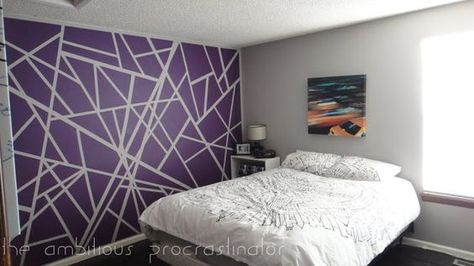 Wall Designs With Tape Painters tape design, Wall painting - k amp uuml che selber zusammenstellen