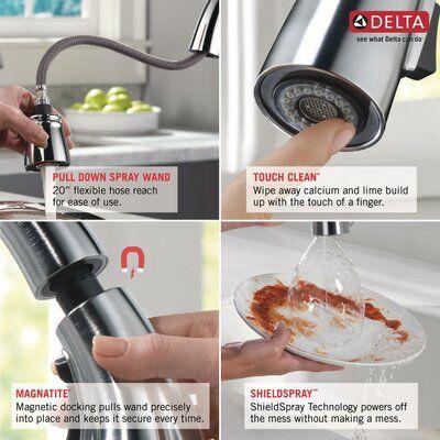 Delta Cassidy Single Handle Bar Faucet