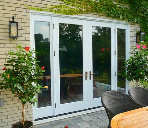 french+doors+wide+entry | French Door Sizes | UPVC patio doors. This link is broken, but I like these for off the kitchen to the deck