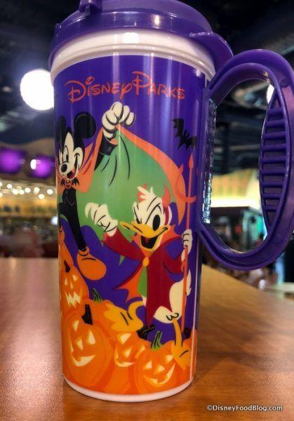 The 2018 Happy Halloween Disney World Refillable Resort Mugs Are Here The Disney Food Blog Disney World Disney Halloween Disney Fun