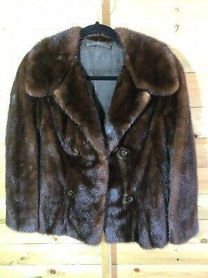 Ad Ebay Url Womens Ranch Mink Short Fur Jacket Bought In 1988 Size 10 Short Fur Jackets Fur Jacket Jackets