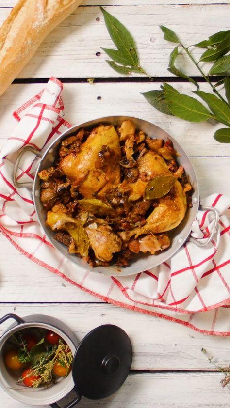 Fricasser le poulet! | #1stInHealth #HealthyEating #Diet #Gourmet #Chicken