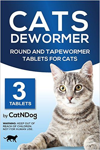 Catndog Cat Wormers Cats Dewormer Round And Tapewormer Tablets For Cats