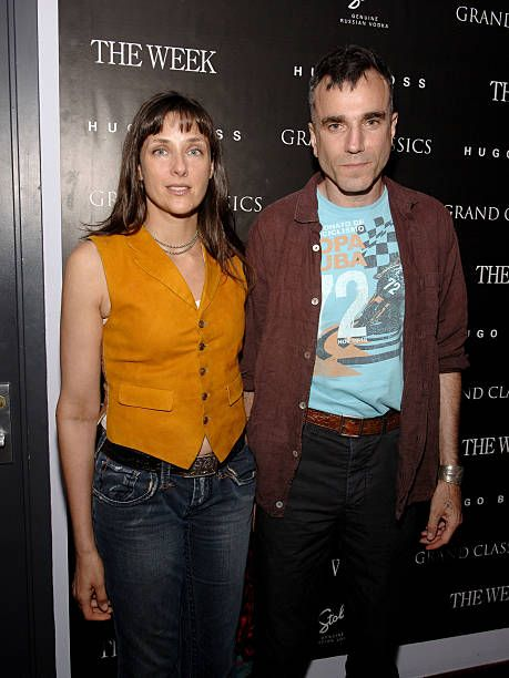 Rebecca Miller and Daniel Day-Lewis during Grand Classics Film Series Screening of 'Kes' Hosted by Daniel Day-Lewis and Rebecca Miller at Soho House Screening Room in New York City, New York, United States.