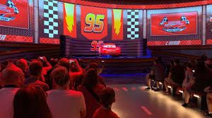 The New Lightning Mcqueen S Racing Academy Show Is Opening On May 1st At Disney S Hollywood Stud Hollywood Studios Disney Lightning Mcqueen Hollywood Studios