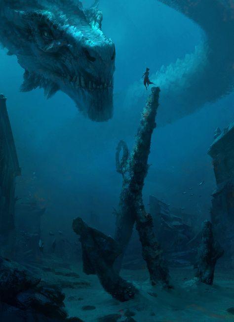 Beautiful pictures of dragons Dragon art and drawings Dark Fantasy Art, Fantasy Kunst, Fantasy Artwork, Fantasy World, Dark Art, Fantasy City, Fantasy Forest, Fantasy Castle, Arte Horror