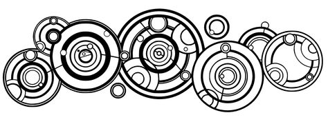 Doctor Who in gallifreyan