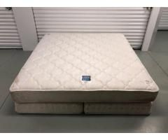 Serta Perfect Sleeper King Size Mattress With Box Spring Serta Perfect Sleeper King Size Mattress Used Bedroom Furniture