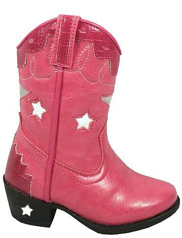 Kids Pink Cowgirl Boots Austin Lights for a Sheriff Callie birthday