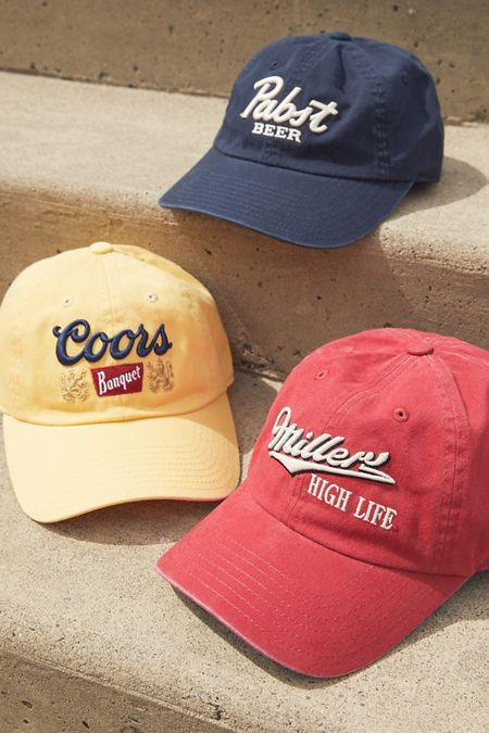 Miller High Life Baseball Hat Urban Outfitters Baseball Hats Girls Baseball Hats Hats For Men