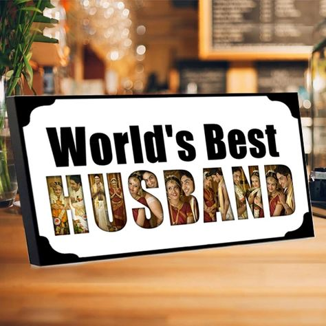 Gift for Best Husband: Surprise your Loving Husband with These Awesome and Delightful Gift. World's Best Husband Photo Frame. . . . #besthusband #husband #giftforhusband #husbandgifts #worldsbesthusband #giftforhim #gifts #frame #husbandframe #frames #zestpics #love #customizephotoframe #customizframe #nameframe #customizframe #awesomeframe #personalisedgifts #loveforever #Photoframe #birthdaygift #frames #birthdayspecial #Giftingideas #forevertogether #valentinegift