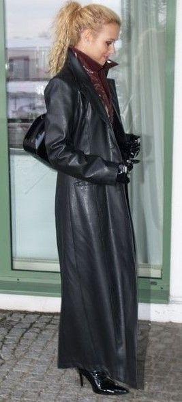 2019Langer Leder Fashion trenchcoat in ledermantelLeder dxrtshCBoQ