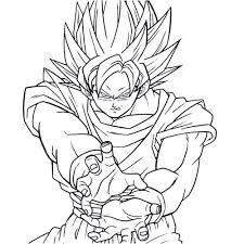 Resultado De Imagen Para Dibujos Faciles De Dragon Ball Z A Lapiz
