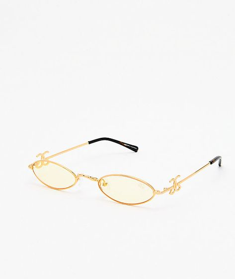 6e67cc7bb Exuding a high-end fit and feel, The Gold Gods present their Rhea Sunglasses  in a chic yellow and gold colorway. Designed with a fashion-forward  silhouette, ...