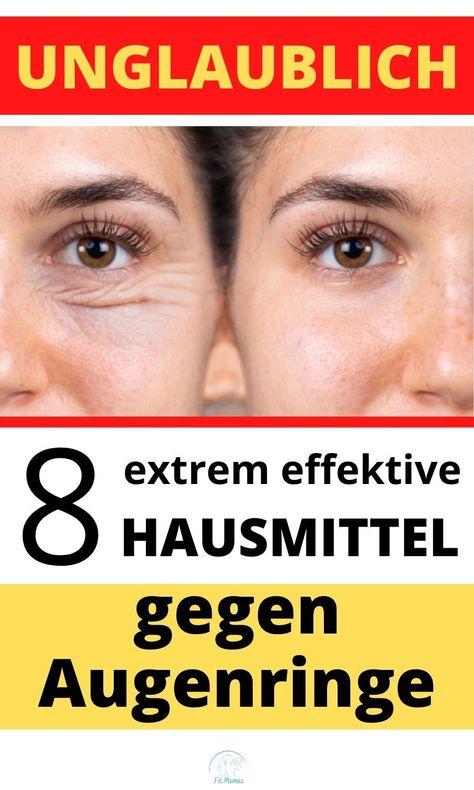 8 extrem wirksame Mittel gegen Augenringe #hautpflege-herbst