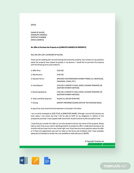 Real Estate Offer Letter Template Beautiful Free Letter Template Of Intent For Real Estate Download In 2020 Letter Writing Template Letter Templates Lettering