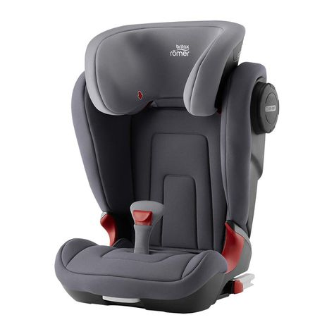 Silla De Auto Britax Romer Kidfix 2 S Storm Grey Gris Grupo 2 3